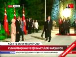"""62. Hükümet""""in Bakanları Köşk'te 'Zafer' resepsiyonunda Haberi online video izle"""
