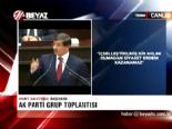 Başbakan Ahmet Davutoğlu ilk kez AK Parti grubuna başkanlık etti  online video izle