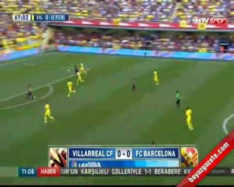 barcelona - Villarreal Barcelona: 0-1 Maç Özeti ve Golü (31 Ağustos 2014)