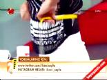 Songül Karlı mezura ile beden ölçülerini hesapladı online video izle
