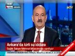 Müezzinoğlu: Ankara'da sudan kaynaklı sağlık sorunu yok