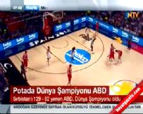 ABD Sırbistan: 129-92 FİBA Basketbol Dünya Kupası Final Maç Özeti (Şampiyon USA)  online video izle