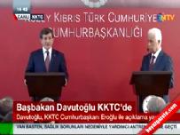Başbakan Davutoğlu KKTC'de soruları yanıtladı