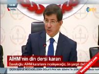 Davutoğlu'ndan 'din dersi' açıklaması Haberi online video izle