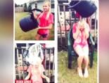En komik buzlu su kazaları (IceBucketChallenge) Haberi online video izle