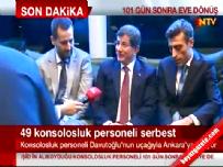 Kurtarılan 49 Rehine İle İlgili Başbakan Ahmet Davutoğlu Açıklaması