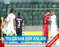 Beşiktaş Bursaspor Maçında Tolga Zengin ile Fernandao Arasıda Gerginlik Yaşandı Haberi