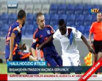 İstanbul Başakşehir Trabzonspor Maçında Olay! Halilhodzic ve Hakem Halis Özkahya... Haberi