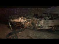 Uşak'ta trafik kazası: 2 ölü, 7 yaralı