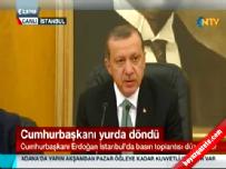 Erdoğan: 3 önceliğimiz var