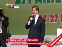 Başbakan Ahmet Davutoğlu Kırşehir'de Ahilik Haftası Etkinliğinde Konuştu