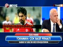 İbrahim Toraman'dan Beyaz Futbol'a Özel Açıklama: Çok Basit Penaltı