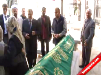 Cenazede Ahmet Misbah Demircan'a tepki
