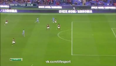 Roma 2-2 Lazio maç özeti ve goller