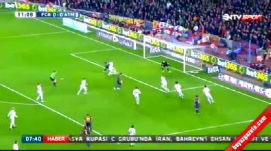 barcelona - Barcelona Atletico Madrid: 3-1 Maç Özeti ve Golleri (11 Ocak 2015)