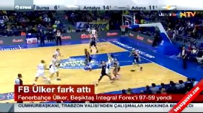 fenerbahce - Fenerbahçe Ülker Beşiktaş Integral Forex: 97-59 Basketbol Maç Özeti (11 Ocak 2015)