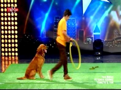 Yetenek Sizsiniz Türkiye - Furkan ve Sevimli Köpek Tarçın'ın 2.Tur Gösterisi
