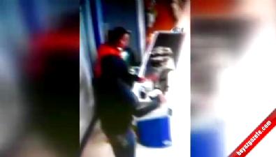 Ankara'da Satırlı Gasp Dehşeti Kamerada