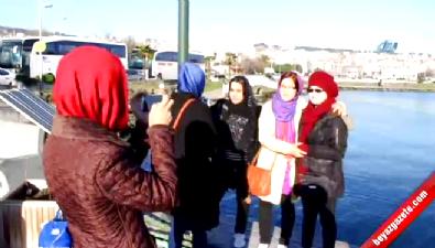 Afgan Bayanlar İlk Defa Deniz Gördüler