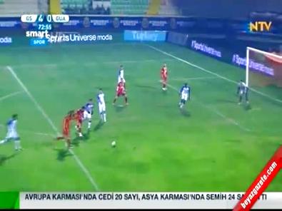 Galatasaray Guaratingueta: 6-0 Hazırlık Maçı Özeti ve Golleri (18 Ocak 2015) Royal Cup Turnuvası