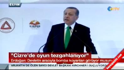 Cumhurbaşkanı Erdoğan Enerji Piyasaları Zirvesi'nde konuştu