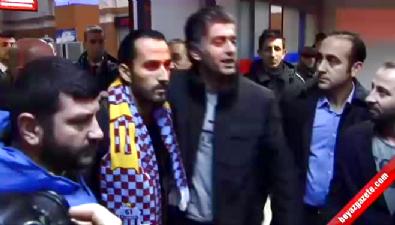 fenerbahce - Trabzon'da Erkan Zengin coşkusu