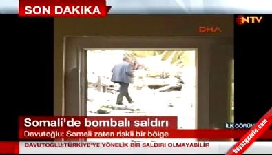 Somali Mogadişu'da Türk Konvoyuna Bombalı Saldırı!