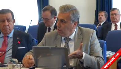 TBMM Plan ve Bütçe Komisyonu'nda 'sahtekar' gerginliği