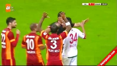 Galatasaray - Diyarbakır BŞB maçında penaltı tartışması