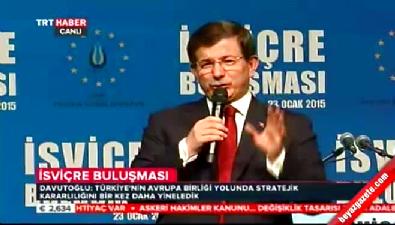 Başbakan Davutoğlu: Avrupa Birliği'ne dinizimle gireceğiz