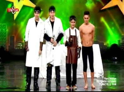 Yetenek Sizsiniz Türkiye - Atai Omurzakov ve Tumar KR Grubu 2. Tur Dans Performansı Haberi