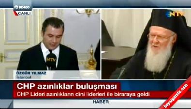 Kılıçdaroğlu azınlıklarla buluştu !