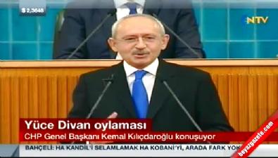 Kemal Kılıçdaroğlu'nun 'Davutoğlu' fıkrası