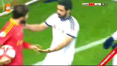 Kayserispor 1 - 1 Fenerbahçe GOL: Bekir İrtegün