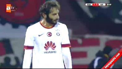 Eskişehirspor 1 - 0 Galatasaray (GOL: Andaç Güleryüz)