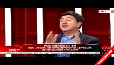 Altan Tan'dan Burhan Kuzu'ya: İnsanları salata yerine koyuyorsun