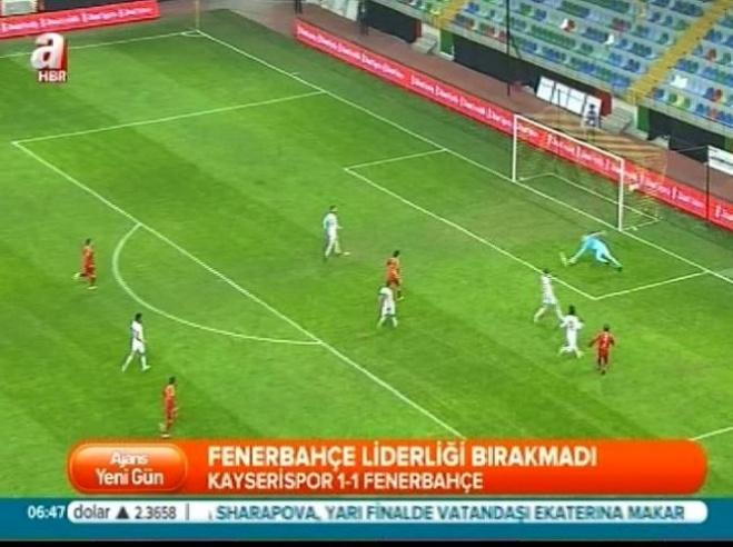 fenerbahce - Kayserispor Fenerbahçe: 1-1 Türkiye Kupası Maç Özeti (27 Ocak 2015)