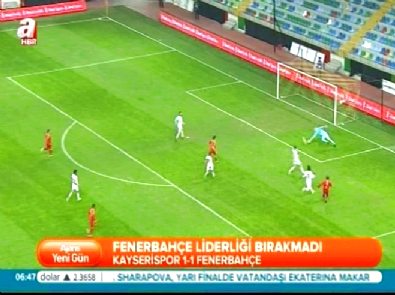 Kayserispor Fenerbahçe: 1-1 Türkiye Kupası Maç Özeti (27 Ocak 2015)