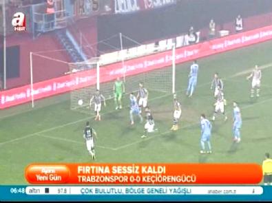 Trabzonspor Keçiörengücü: 0-0 Türkiye Kupası Maç Özeti (27 Ocak 2015)