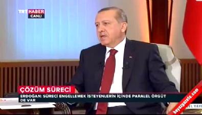 Cumhurbaşkanı Erdoğan'dan paralel yapı açıklaması