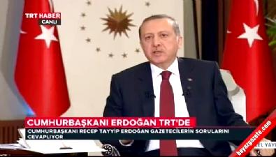 Cumhurbaşkanı Erdoğan: ABD Gülen'i sınırdışı etmeli