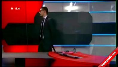 Hollanda televizyonu NOS'a canlı yayında silahlı baskın