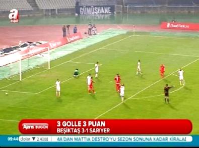 Beşiktaş Sarıyer: 3-1 Maç Özeti ve Golleri (28 Ocak 2015)