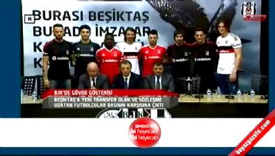 Beşiktaş gövde gösterisi yaptı