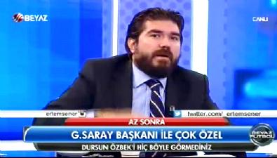 fenerbahce - Rasim Ozan Canlı yayında Aziz Başkan'a yalvardı: Kan dökülecek kan!