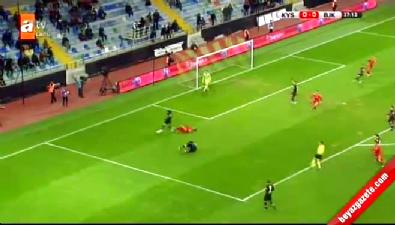 Kayserispor 1-0 Beşiktaş Ziraat Türkiye Kupası maç özeti