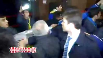 fenerbahce - Aziz Yıldırım Gaziantep'te çılgına döndü