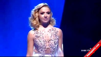 O Ses Türkiye'nin finalinde Hadise'den Muhteşem performans