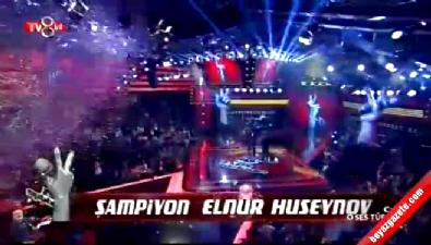 O Ses Türkiye Birincisi Elnur Hüseyinov oldu