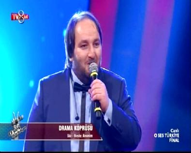 O Ses Türkiye Finale Geçen Senenin Birincisi Hasan Doğru 'Drama Köprüsü' İle Sürpriz Yaptı